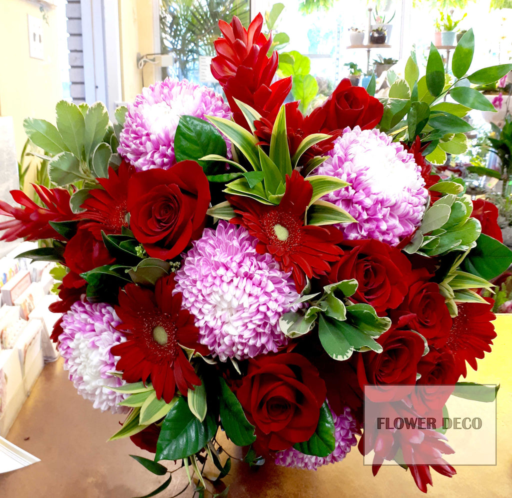 Red Plus Pink Bouquet