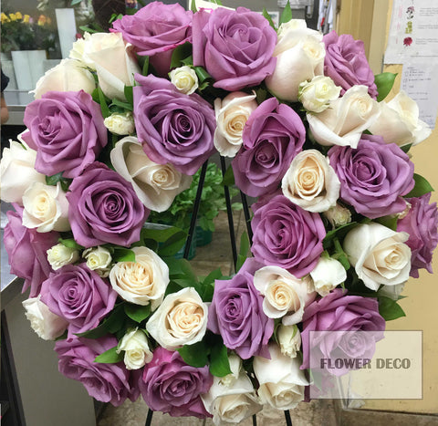 Wreath Round Rose