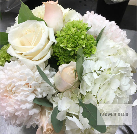 White Propose Bouquet