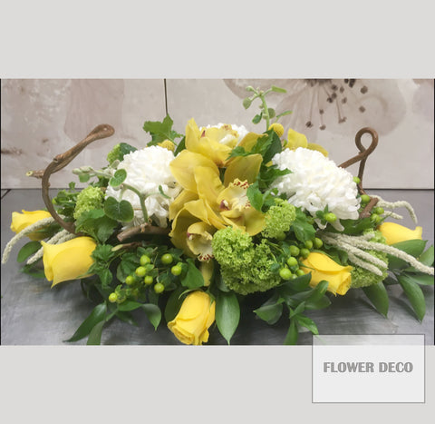 Yellow Centrepiece