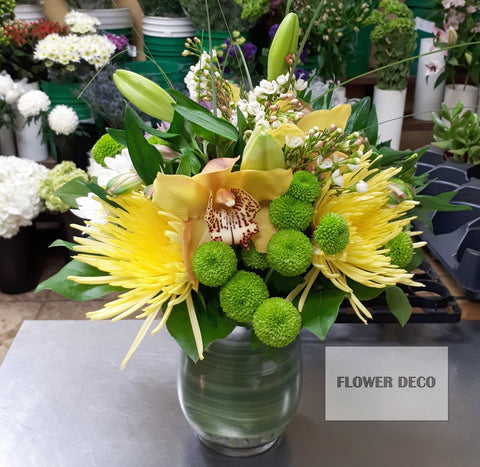 Yellow Glow Arrangement