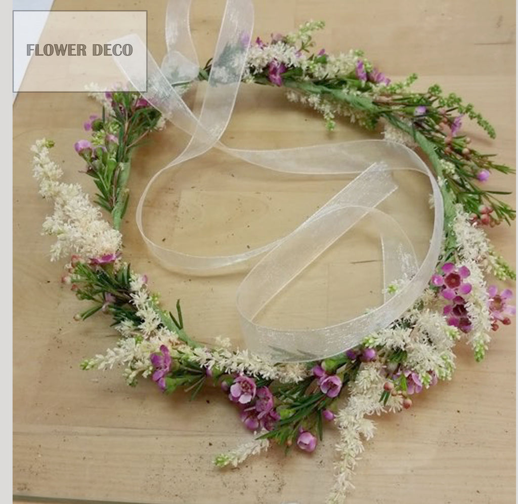 Flower Hair Crown