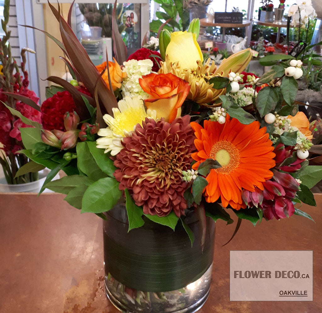 Fall Bloom Arrangement