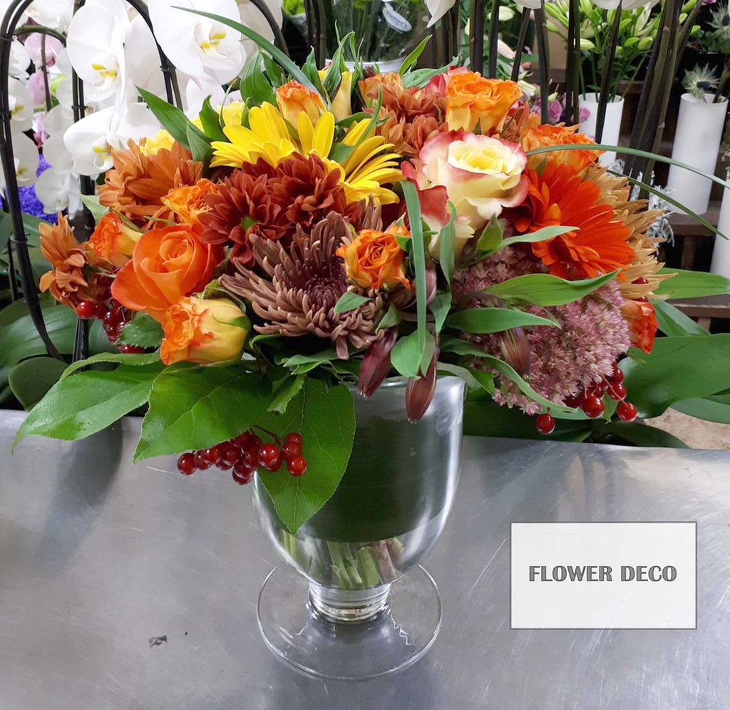 Flower Deco Fall Arrangement