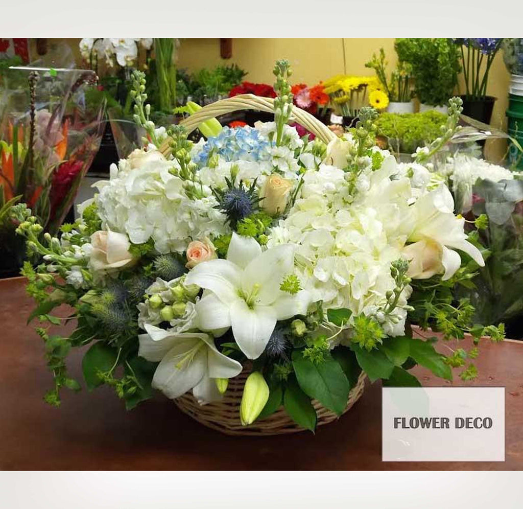 Fresh Cut Flower Big Basket