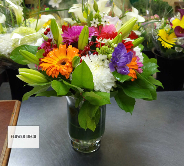 Gerbera Mixed Arrangement