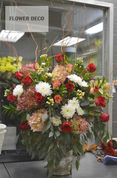 Impact Red Arrangement