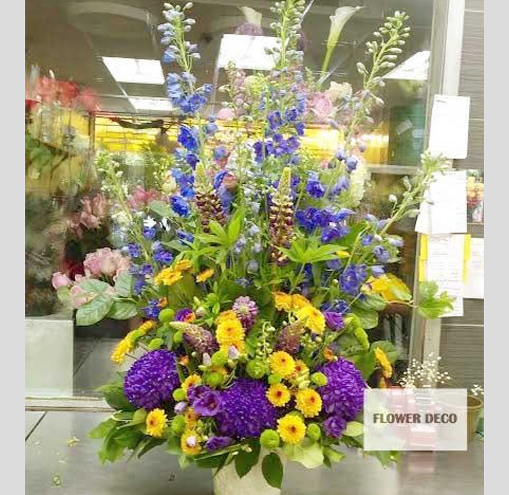 Funeral Arrangement For Men Flower Deco