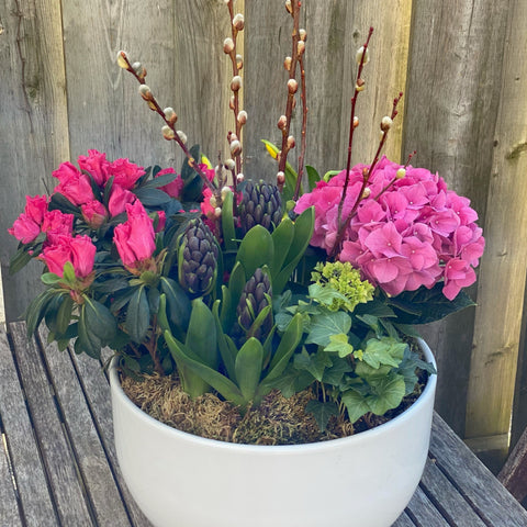 Blooming Beauty Planter