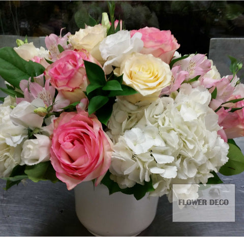 Rose Pot Arrangement