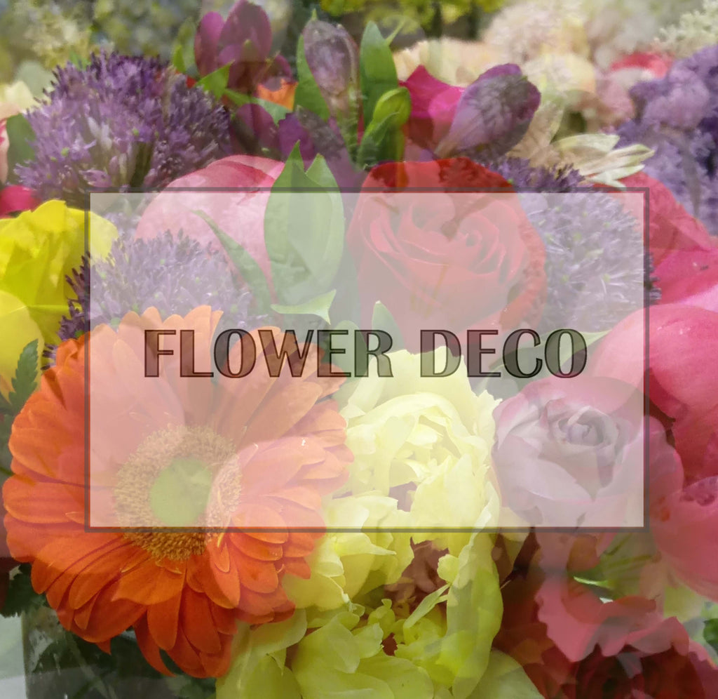 Flower Deco Weekly Delivery Package - 1Month