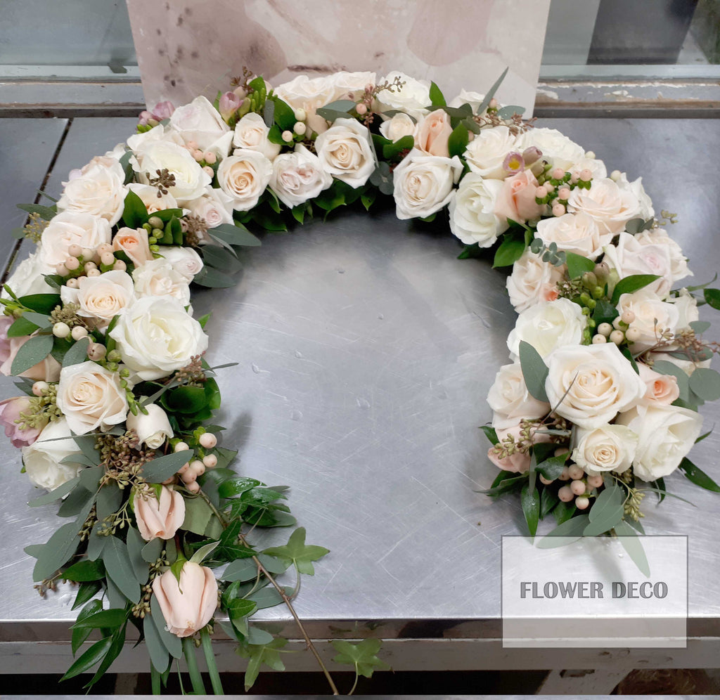 Urn Arrangement - White