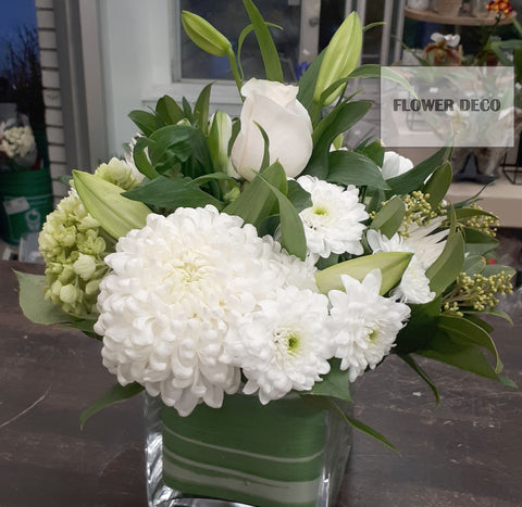 Clean White Arrangement