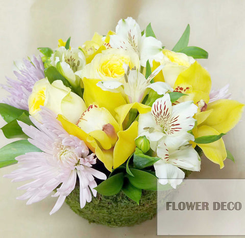 Yellow Soft Arrangement