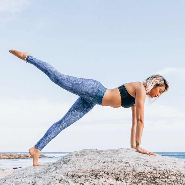 Hamsa Yoga Leggings - Free Spirit