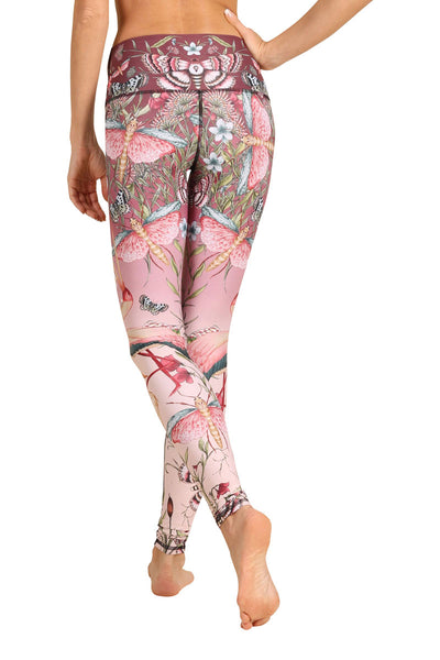 Pretty In Pink Yoga Leggings - FULL LENGTH