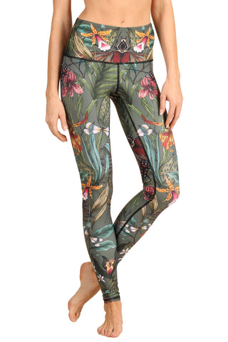 Green Thumb Yoga Leggings - FULL LENGTH