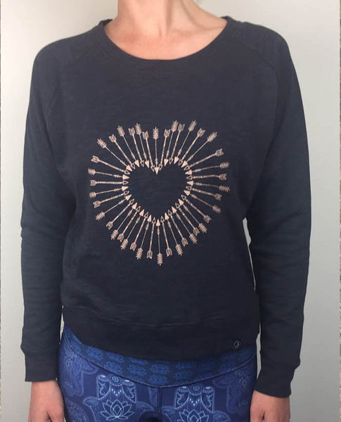 Shot to the Heart - Charcoal - Free Spirit