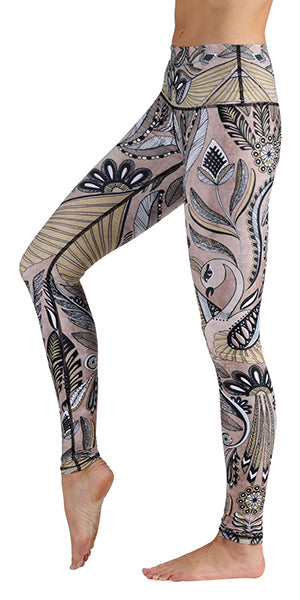 Full length or crop these Yoga Democracy Desert Goddess leggings will perform as fabulously as you in the yoga studio. Try them out at Yogafurie hot yoga studio