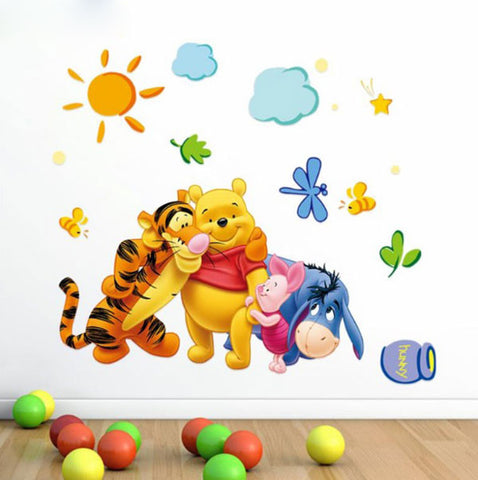 Wall Stickers Cartoon for Kids Rooms