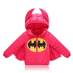 Coat Warm with Hoodie for Boys & Girls Cartoon Long Sleeve - 6 Colors