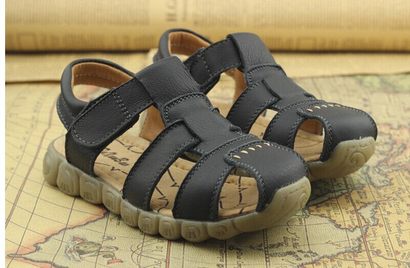 Sandals for Boys Genuine Leather Casual Comfortable - Babies4you