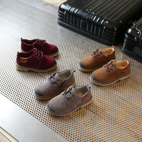 Gentleman Shoes for Boys - 3 Colors