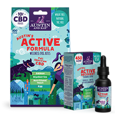 Austin's Active Recovery CBD Formula