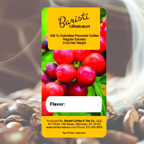 100% Colombia Cinnamon Passion Flavoured Regular Coffee