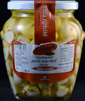 MARINATED GARLIC!