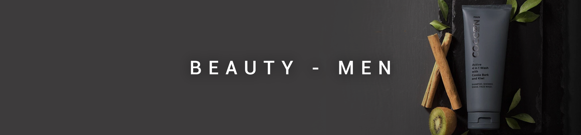 - Beauty - Men -