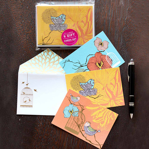 Gift Cards - birds-Stationery-PropShop24.com