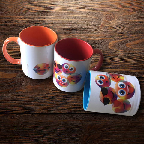 mugs - emoticon