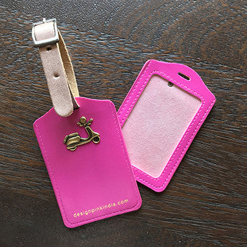 Luggage Tags - pink