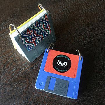 notebook - floppy - blue-Stationery-PropShop24.com