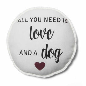 PLUSHIE - ALL YOU NEED IS LOVE AND A DOG-HOME-PropShop24.com