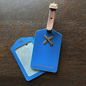 Luggage Tags - blue-Fashion-PropShop24.com