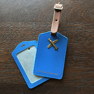 Luggage Tags - blue