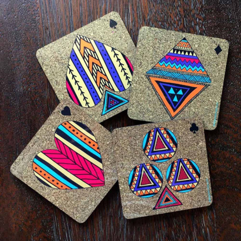 coasters - triangles