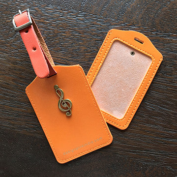 Luggage Tags - orange