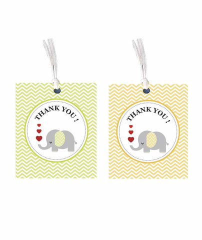 Gift tag - Thank you - Set of 10-PropShop24.com