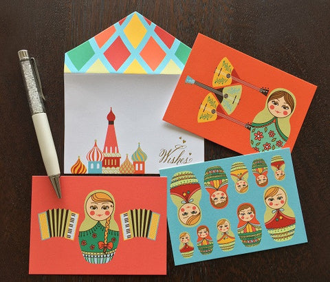 Gift Cards - doll-Stationery-PropShop24.com