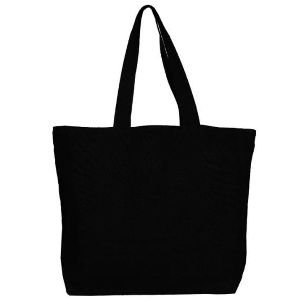 Large Tote Bag- Jutton (Black)-WOMEN-PropShop24.com