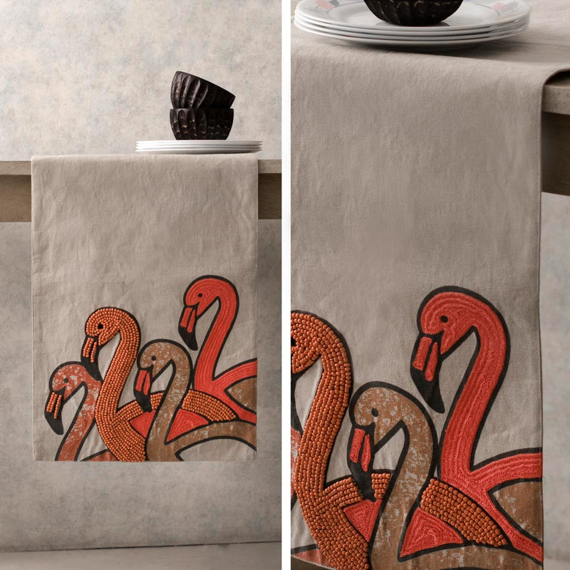 Table Runner - Samarkhand Swan-HOME ACCESSORIES-PropShop24.com