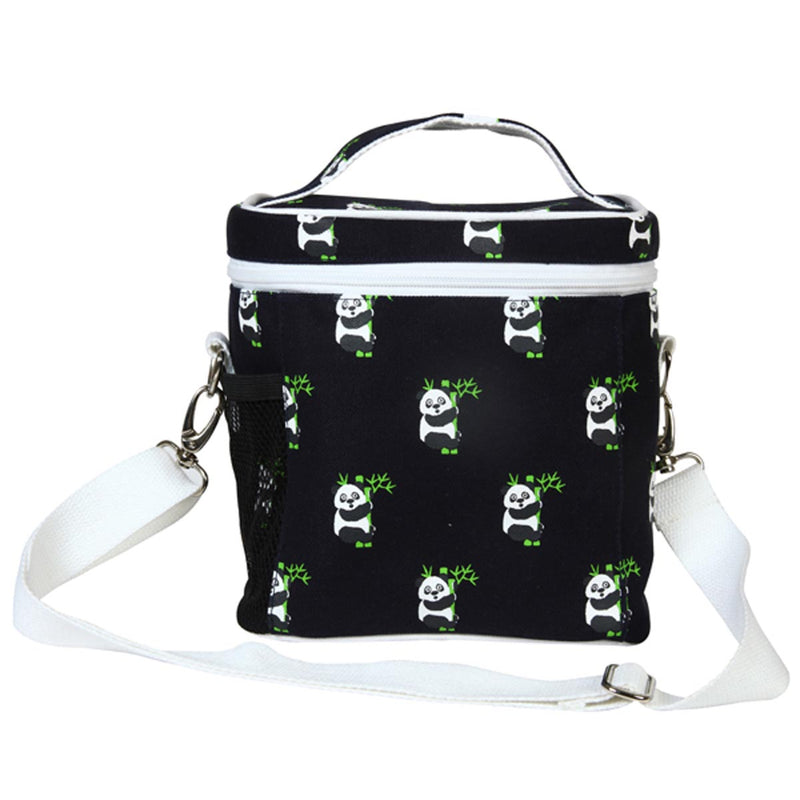 Lunch Bag- - Panda (Black)-DINING + KITCHEN-PropShop24.com