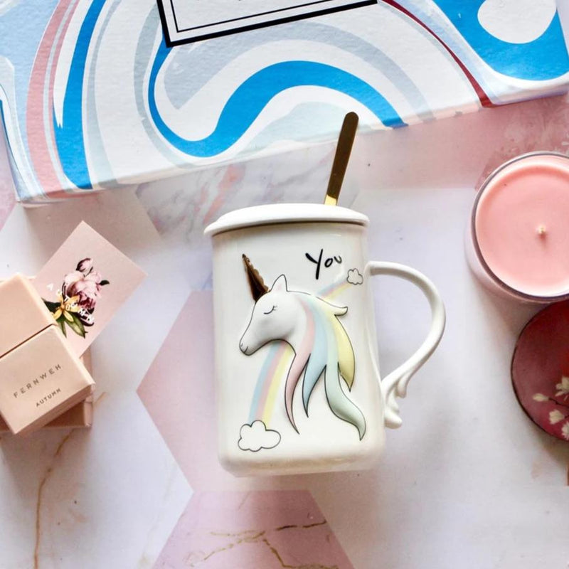 Rainbow Unicorn Mug-DINING + KITCHEN-PropShop24.com