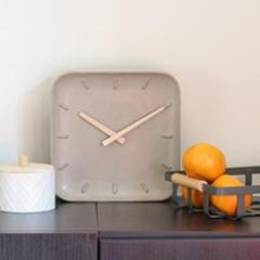 Cement Square Clock-HOME-PropShop24.com
