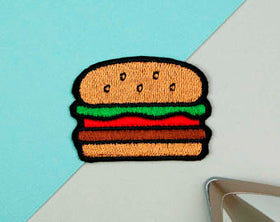 Iron On Patch - Burger-FASHION-PropShop24.com