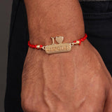 Rakhi - Love Brother - Yellow Gold-PERSONAL-PropShop24.com