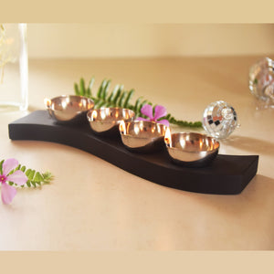 Diya - Set of 4-HOME ACCESSORIES-PropShop24.com